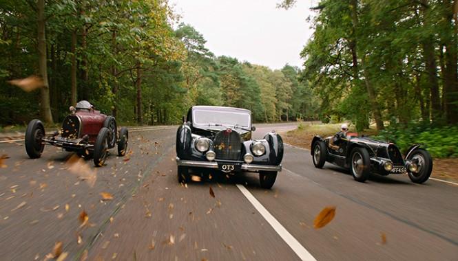trio of Bugatti