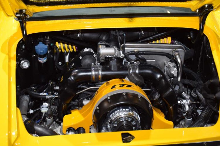 Engine of the CTR Anniversary