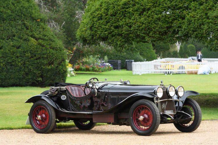 2020 Concours of Elegance - 1929 Alfa Romeo 6C-1750