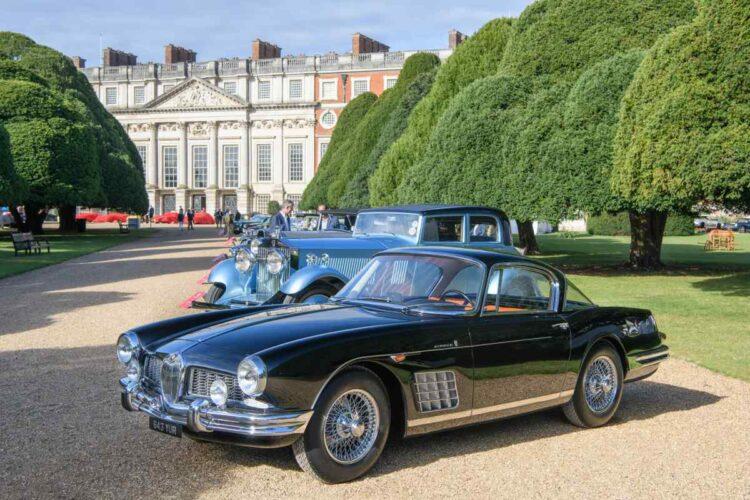 2020 Concours of Elegance - 1958 Jaguar XK150 s Coupe by Bertone