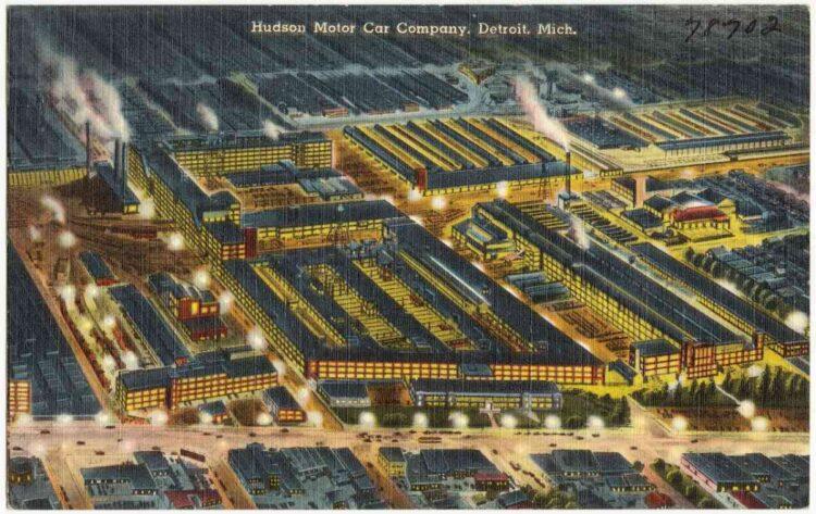 Hudson Motor Company Factory