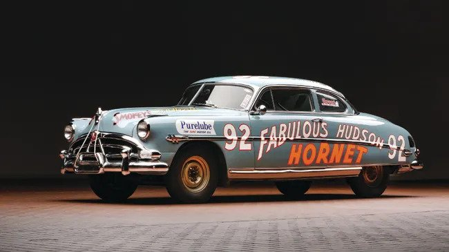 1952 Hudson Hornet, raced to success in NASCAR by Herb Thomas