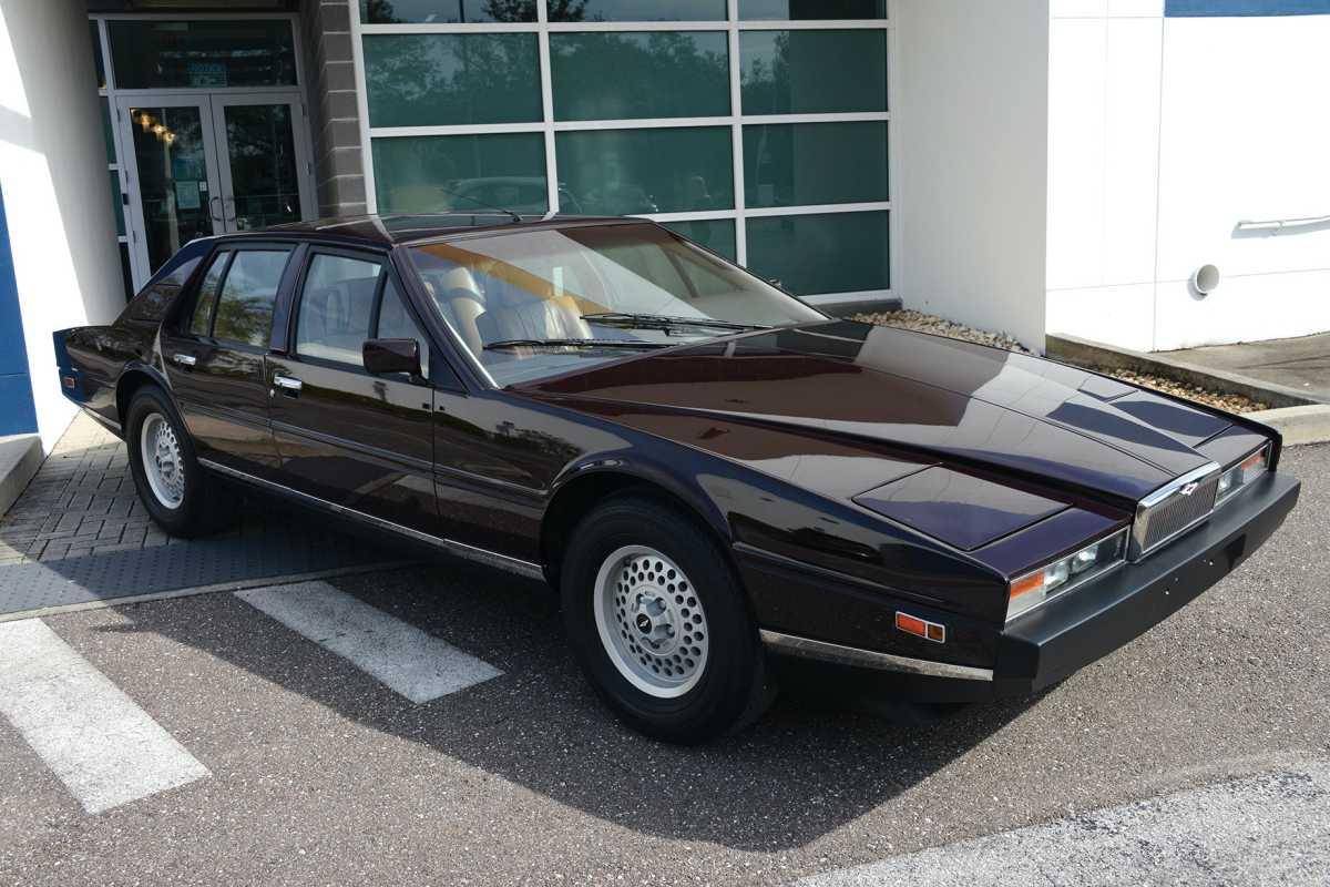 1984 Aston Martin Lagonda Sports Car Digest The Sports Racing And Vintage Car Journal