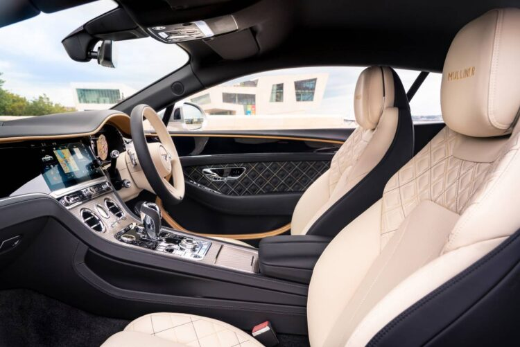 Interior of Continental GT Mulliner Coupé