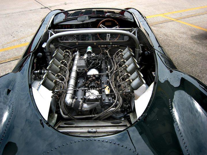 Engine of the Jaguar XJ13