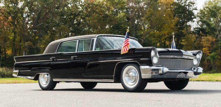 1960 Lincoln Continental Mark V Executive Limousine