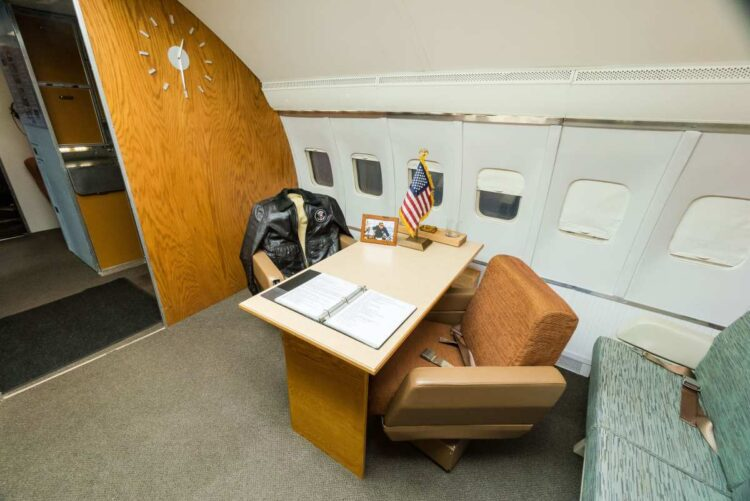 John F. Kennedy's Air Force One Replica
