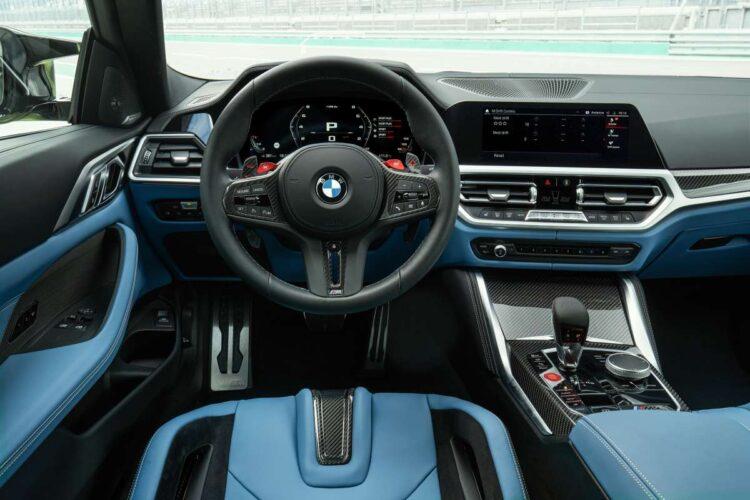 Interior of BMW