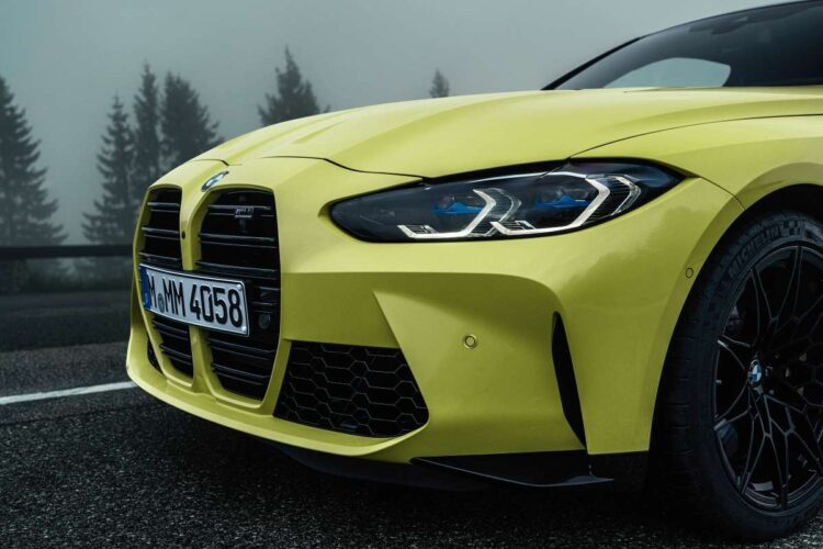 grille of BMW M4