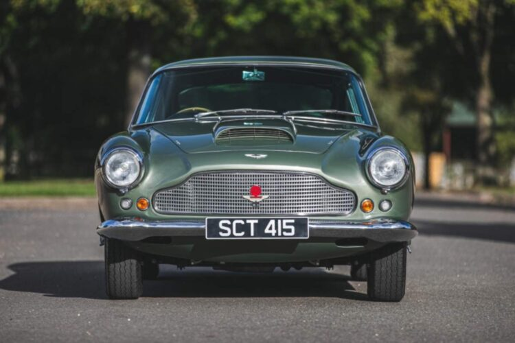 Front of 1960 Aston Martin DB4 Series II Coupe