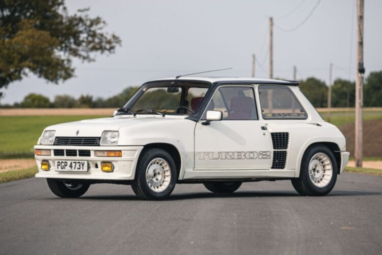 Front of 1983 Renault 5 Turbo 2