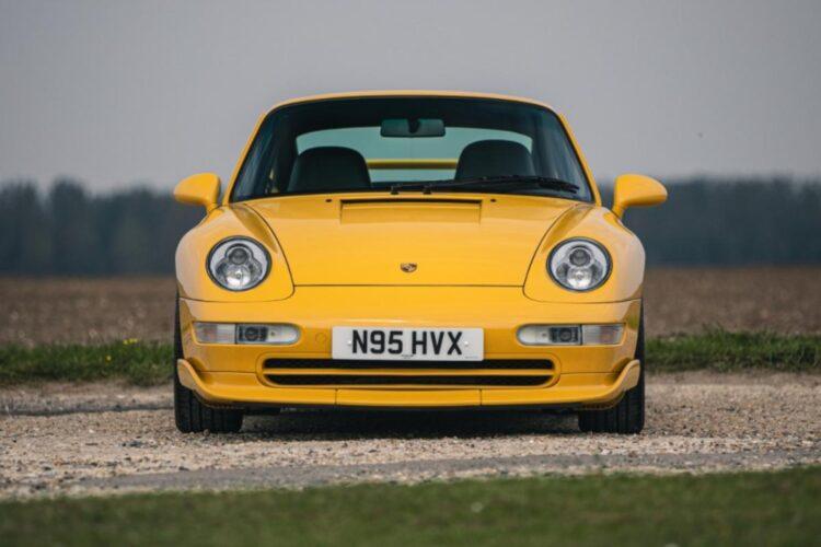 front of 1996 Porsche 911 (993) Carrera RS