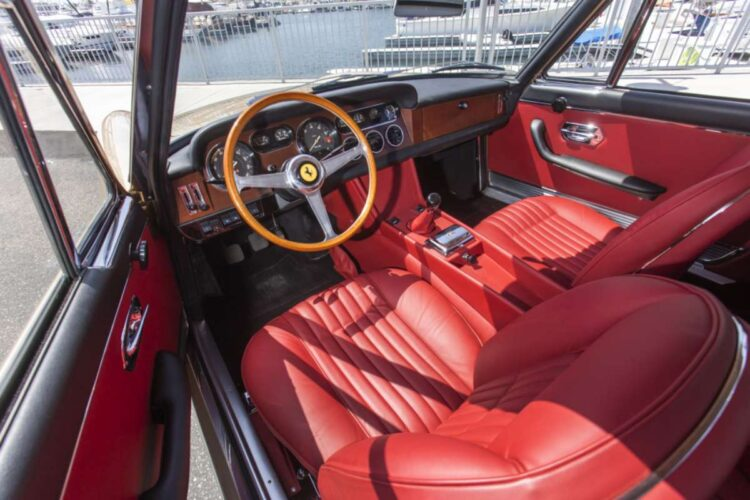 Interior of 1966 Ferrari 330 GT 2+2 Series II