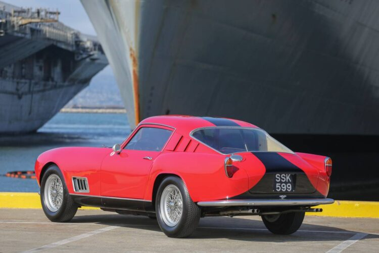 rear of 1958 Ferrari 250 GT