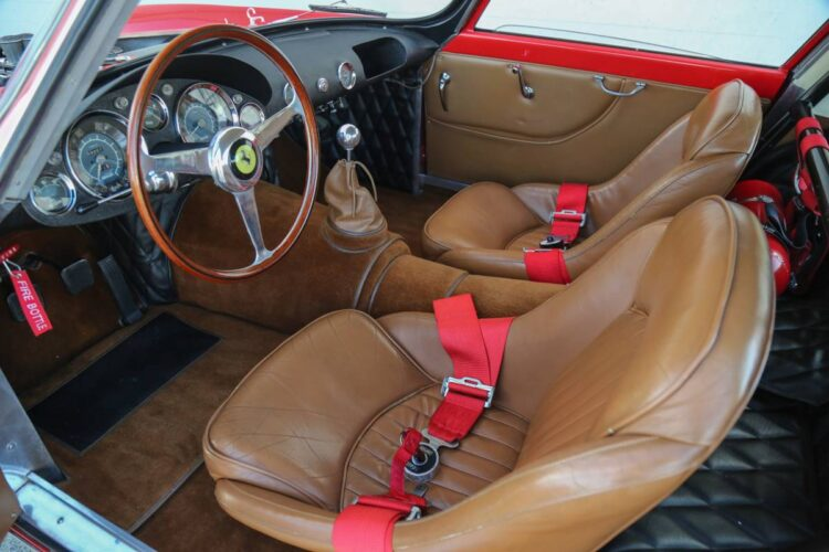 bucket seat of ferrari