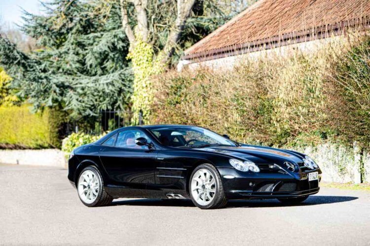 2005 Mercedes-Benz SLR McLaren Coupé