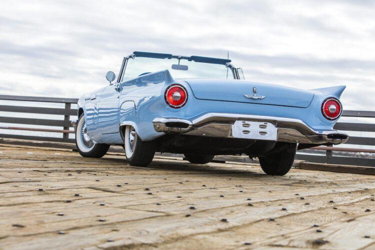 back of 1957 Ford Thunderbird