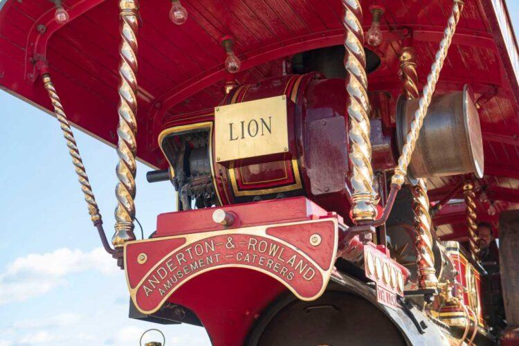 rear of 1932 Fowler 'B6' Super Lion