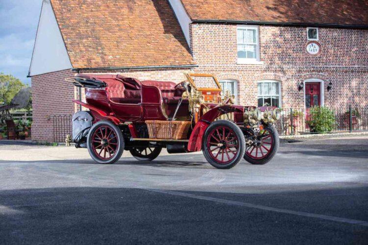 1903 Thornycroft 20hp 4-cylinder Double Phaeton