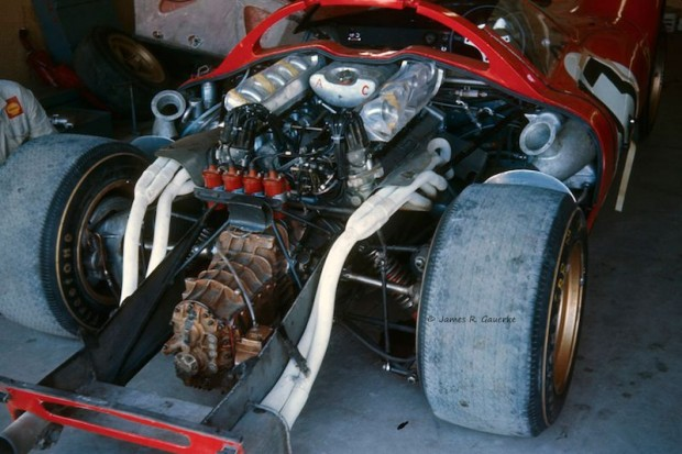 engine of the Ferrari 330 P3/4