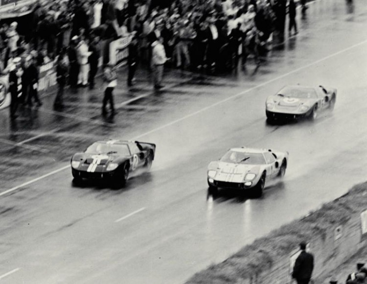 GT40s win at 1966 Le Mans 24 hours