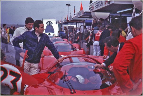 Ferrari 330 P3/4 was driven to victory by Lorenzo Bandini at the 1967 Daytona