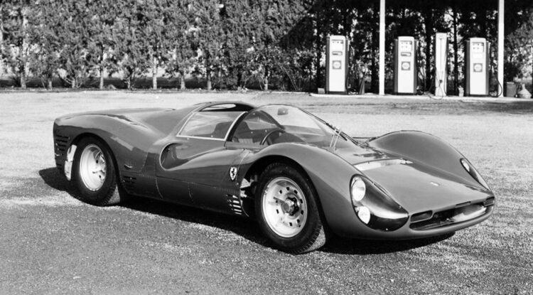 front of Ferrari 330 P3