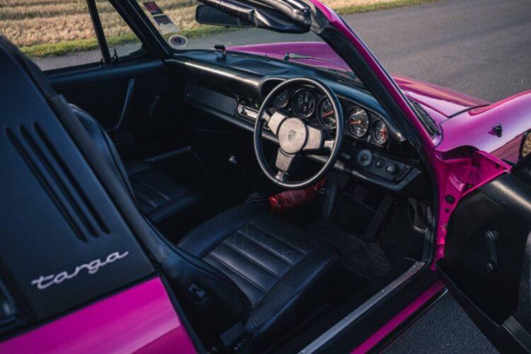 interior of 1974 Porsche 911 Carrera 2.7 Targa (MFI)