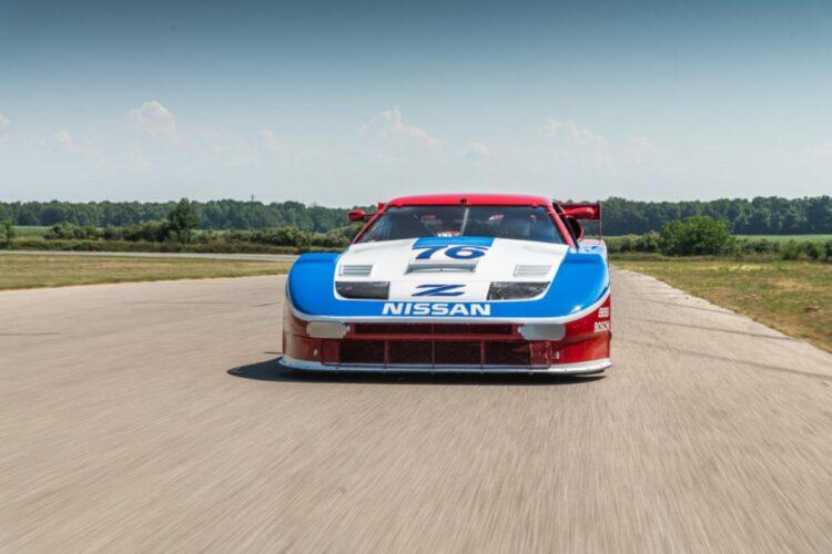 Front of 1989 Nissan 300ZX Turbo IMSA GTO