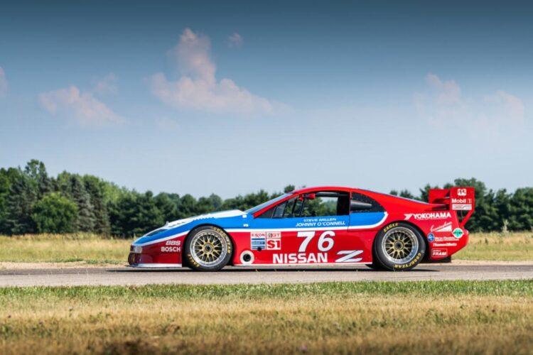 side profile of Winning 1989 Nissan 300ZX Turbo IMSA GTO