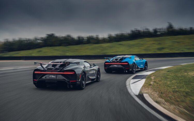 back of Bugatti Chiron