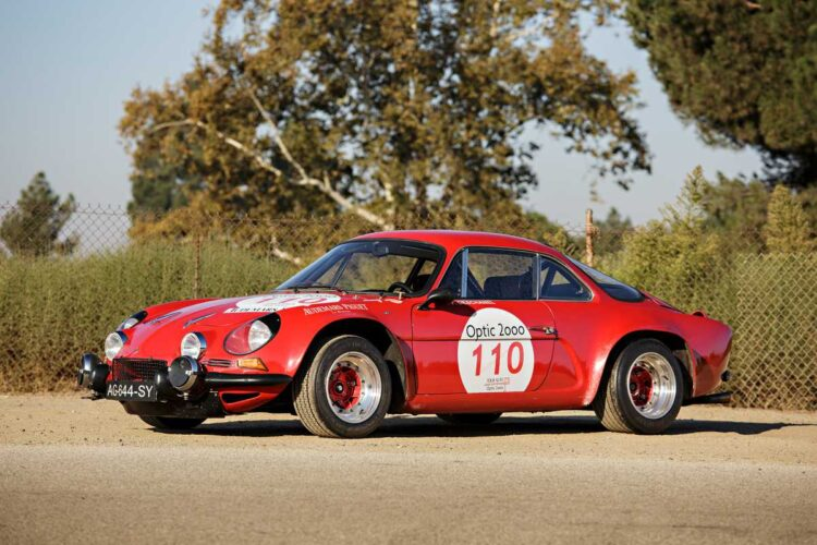 1970 Alpine A110 1600S Group 4