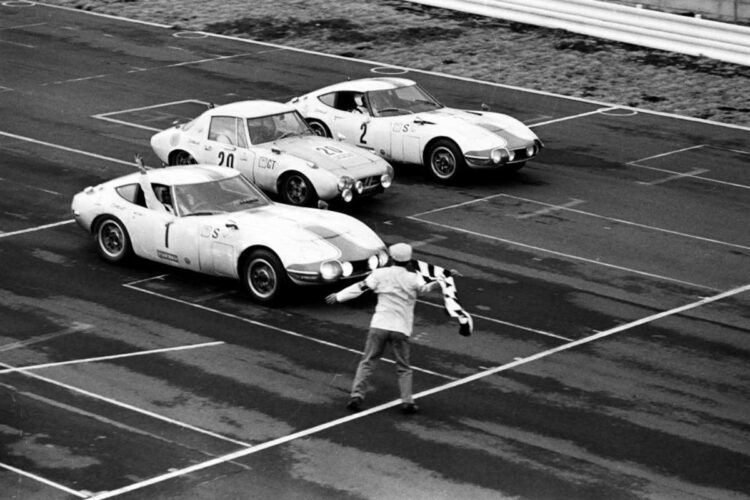 Toyota 2000 GT Winner of Fuji 24 Hours
