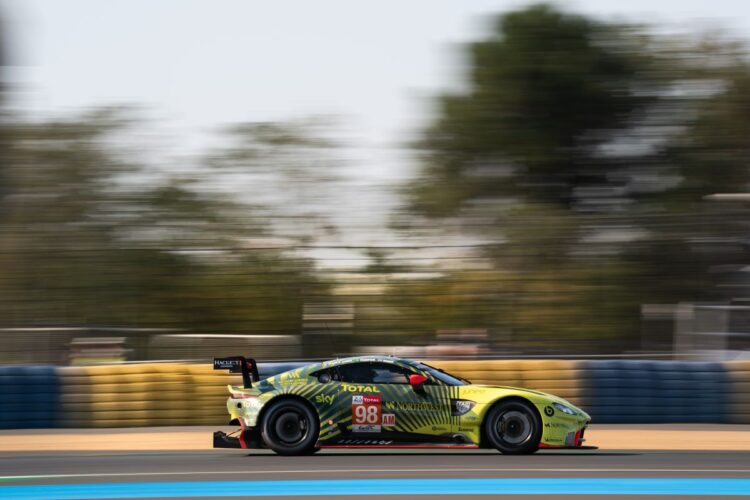 GTE Am Aston Martin Vantage racing