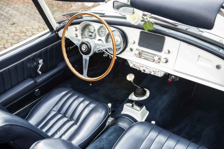 interior of BMW 507