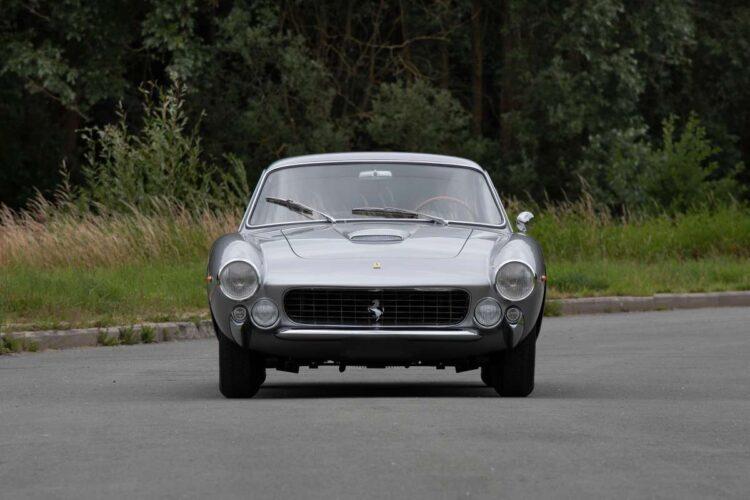 front of 1963 Ferrari 250 GT Lusso Berlinetta