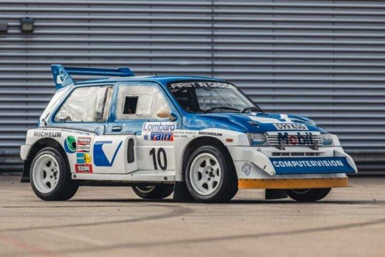 1986 MG Metro 6R4 ex-Works at 2020 NEC Classic Live Online Auction