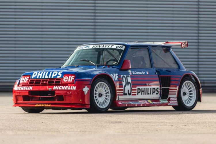 1987 Renault 5 Turbo 'Superproduction' at 2020 NEC Classic Live Online Auction