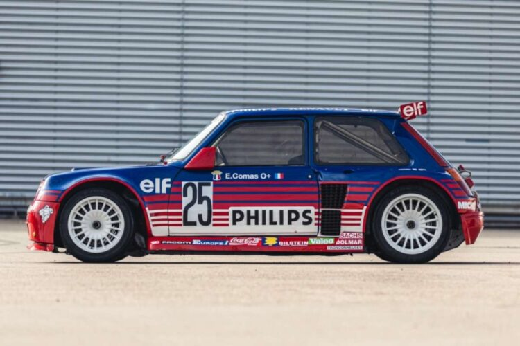 side of 1987 Renault 5 Turbo 'Superproduction'