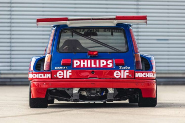 back of 1987 Renault 5 Turbo 'Superproduction'