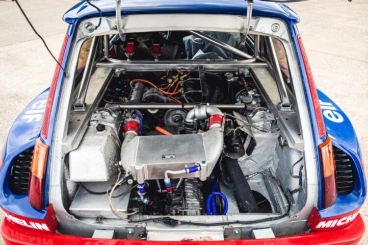 Engine of 1987 Renault 5 Turbo 'Superproduction'
