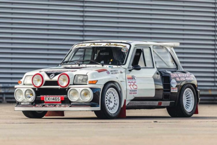 1984 Renault 5 Maxi Turbo at 2020 NEC Classic Live Online Auction