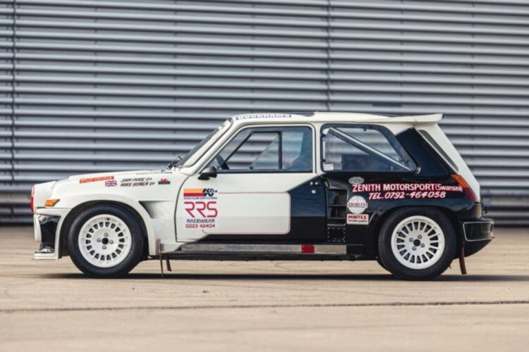 side of 1984 Renault 5 Maxi Turbo