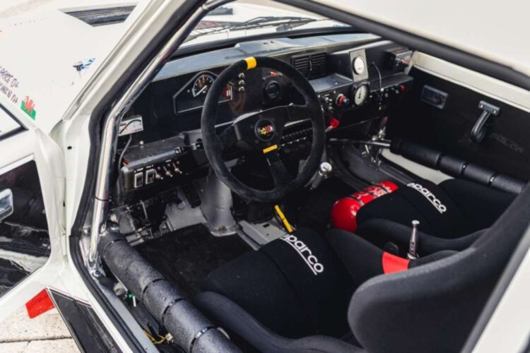interior of 1984 Renault 5 Maxi Turbo