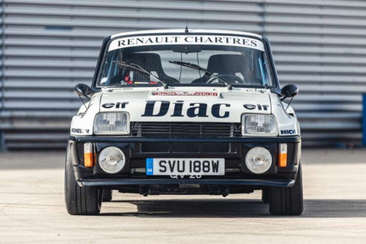 front of 1982 Renault 5 Turbo Group 4