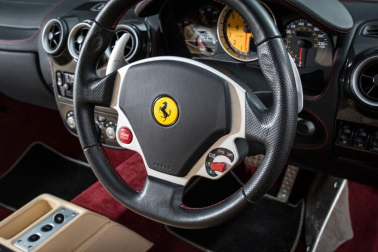 Steering Wheel of F430