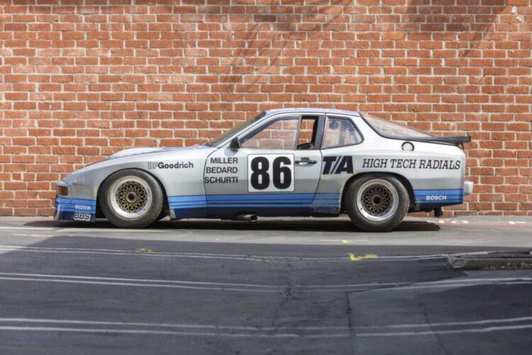 Porsche 924 GTR Side