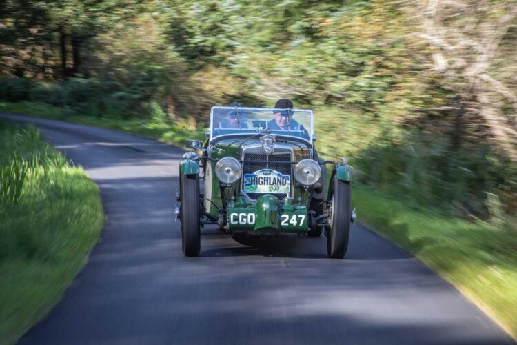 Andrew & Peter MacLellan in the 1935 MG KN Special