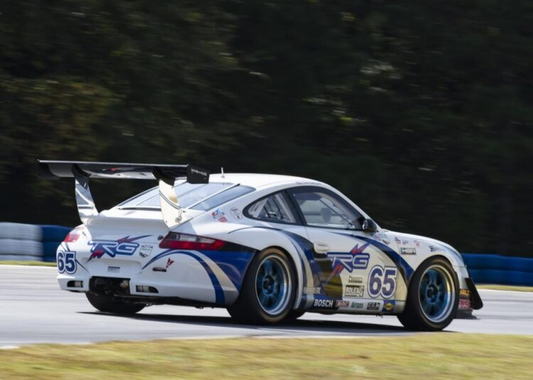 Don Ondrejcak's  in the ex-TRG Porsche 997 GT3