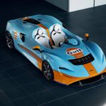 McLaren Elva Gulf Theme Revealed at Goodwood Motor Circuit